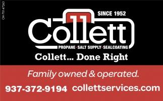 Collett... Done Right