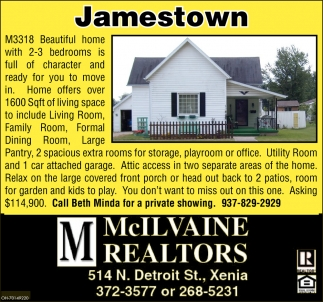 Home in Jamestown