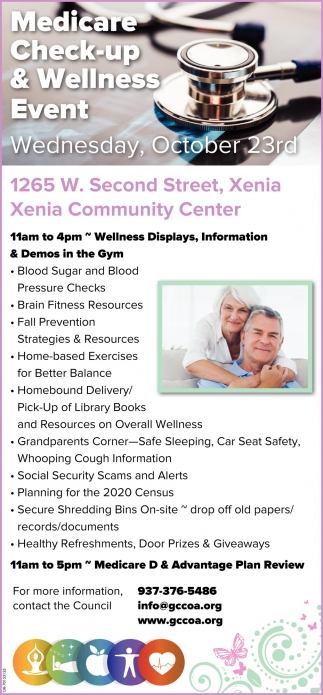 At Xenia Community Center