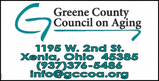 Promotes independence and quality of life for Greene County, Ohio senior citizens and caregivers
