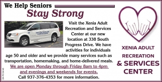We Help Seniors Stay Strong