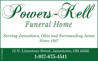 Serving Jamestown, Ohio and Surrounding Areas Since 1937