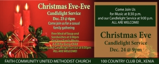 Christmas Eve - Candlelight Service