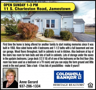 Open House - 11 S. Charleston Road, Jamestown