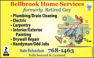 Plumbing, Electric, Carpentry, Painting