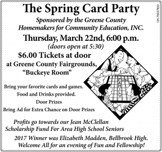The Spring Card Party