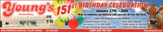 151st Birthday Celebration