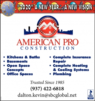 2020 a new year... a new vision