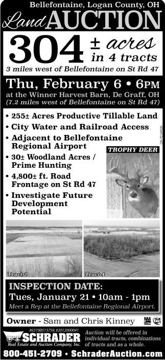 Land Auction - February 6