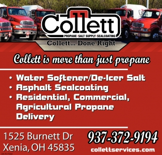 Collett is more than just propane