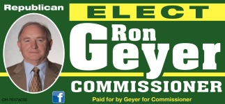 Elect Ron Geyer For Greene County Commissioner