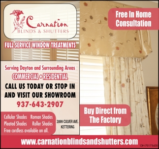 Free in Home Consulation