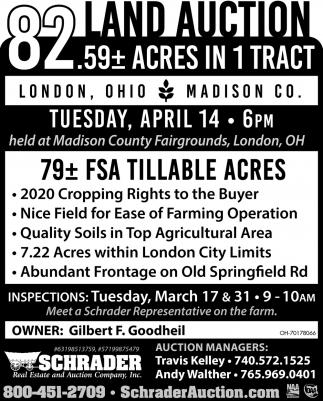 Land Auction - April 14