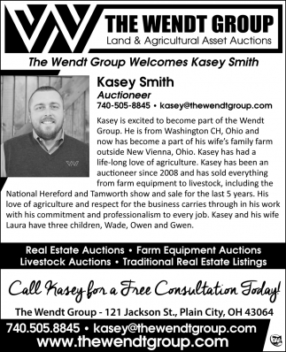The Wendt Group Welcomes Kasey Smith