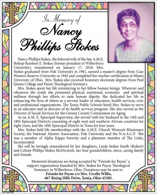 Nancy Phillips Stokes