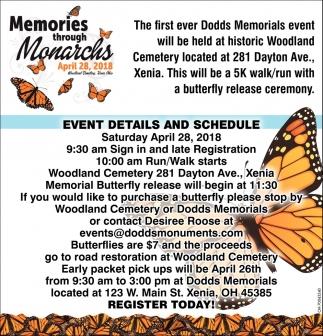 Memories through Monarchs