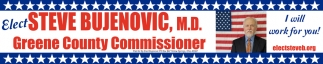 Elect Steve Bujenovic for Greene County Commissioner