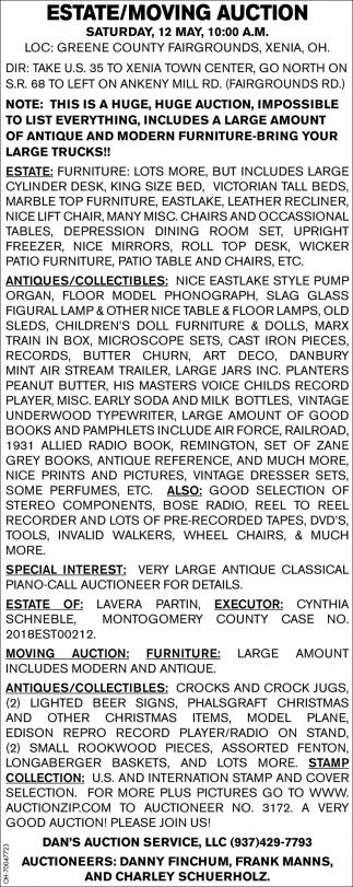 Estate/Moving Auction