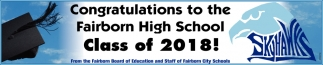 Congratulations to the Fairborn High School Class of 2018!