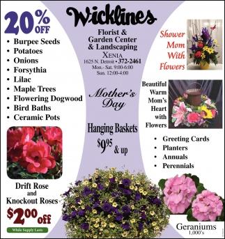 Florist, Garden Center & Landscaping