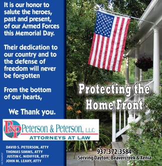 Protecting the Home Front