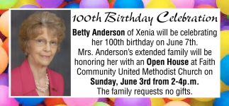 100th Birthday Celebration