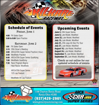 Schedule of Events / Upcoming Events