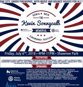 Kevin Sonnycalb Memorial Fireworks Festival