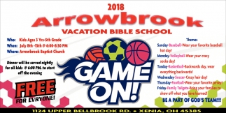 2018 Arrowbrook Vacation Bible School