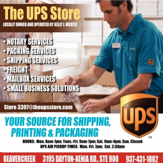 Your source for shipping, printing & packaging