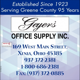 Serving Greene County 95 Years