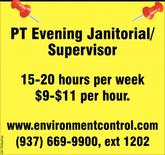 Janitorial / Supervisor