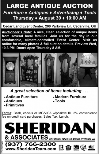 Large Antique Auction
