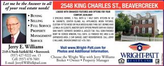 2548 King Charles St., Beavercreek