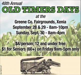 48th Annual Old Timers Days