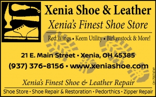 Shoe store, repair & restoration, pedorthics