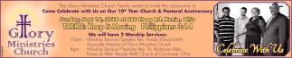 10th Year Church & Pastoral Anniversary