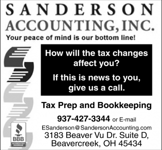 Tax Prep and Bookkeeping