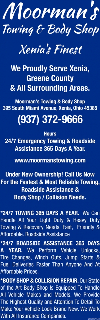 24/7 Emergency Towing & Roadside
