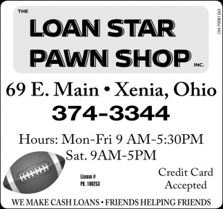 We make cash loans